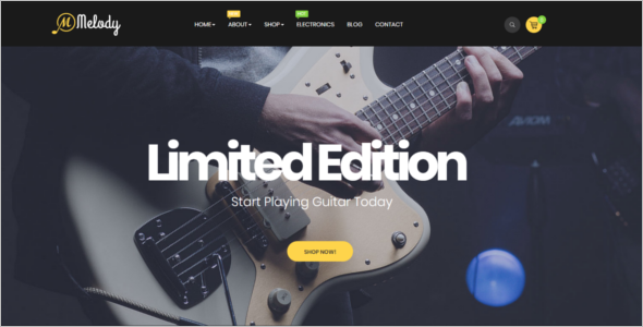 Music Prestashop Theme