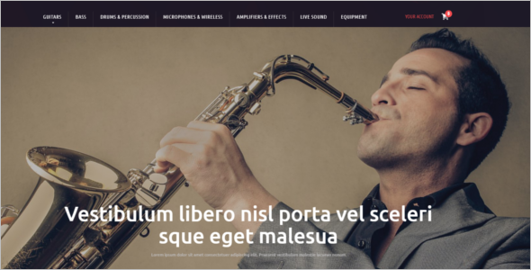 Musical Prestashop Theme