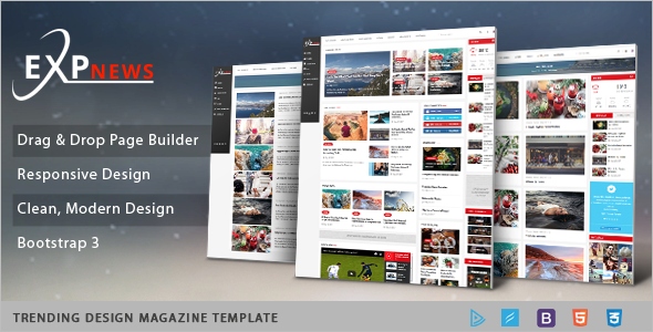 News Editorial Joomla Template