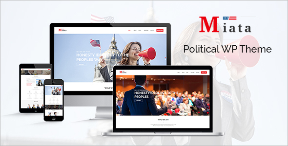 Nonprofit Political Website Theme