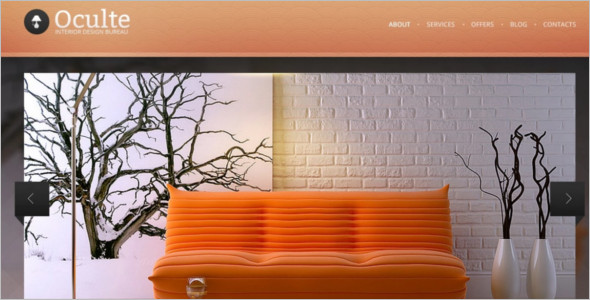 Online Interior Design Drupal Theme