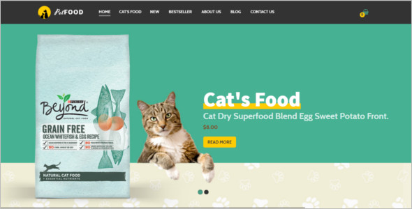 OpenCart Pet Store Template