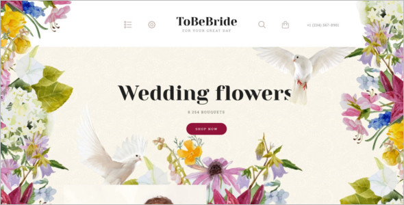 OpenCart Wedding Event Theme