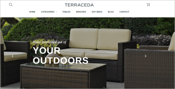 Outdoor Furniture PrestaShop Template