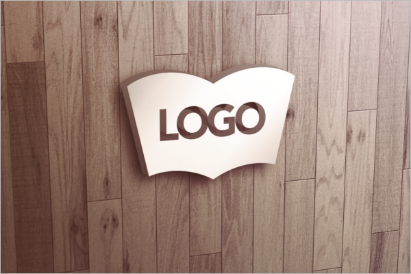Outdoor Wall Logo Mockup Design