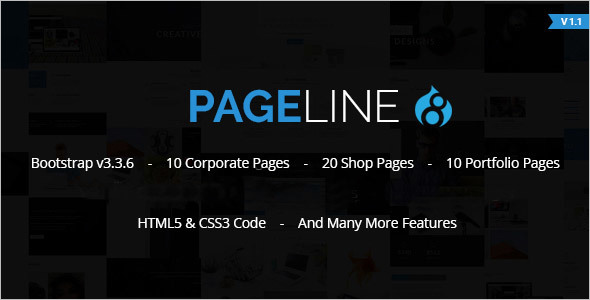 PageLine Drupal Bootstrap Theme