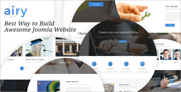 Parallax Multi Purpose Joomla Template