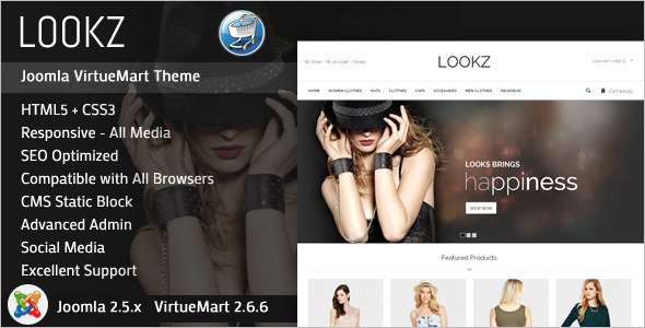 Parallax SEO Friendly Joomla Template