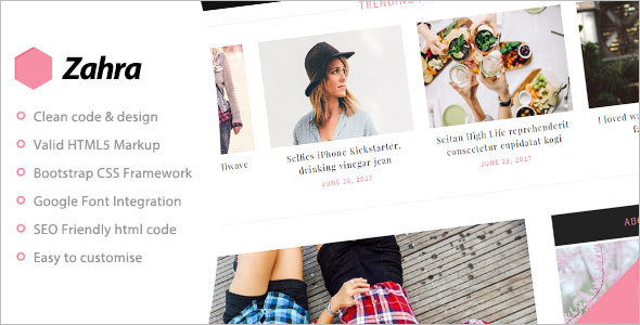 Personal Bootstrap Blog Template