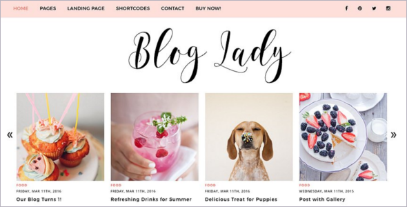 Pet Birthday Blogger Template