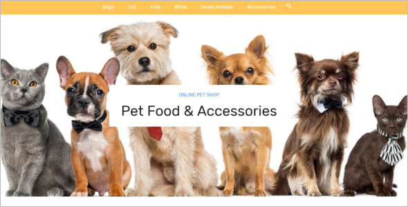 Pet Food Prestashop Template