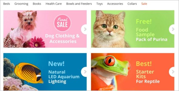 Pet Store Magento Design Template