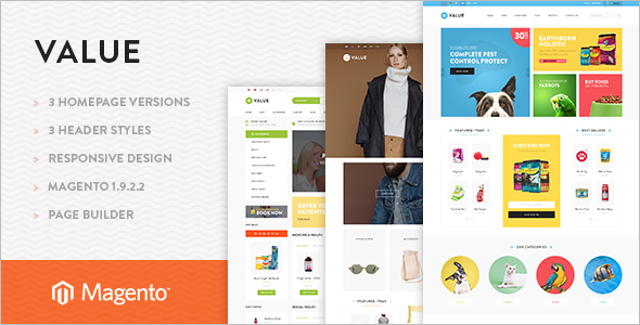 Pet store Magento Builder Template