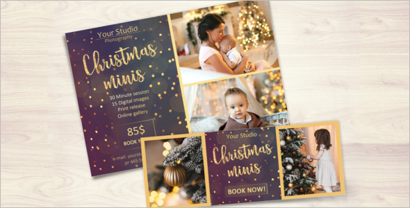 Photography Christmas Website Template