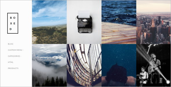 Photography Gallary OpenCart Template
