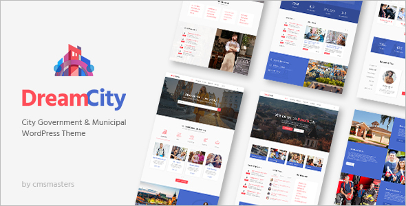 Political Website Portal Theme