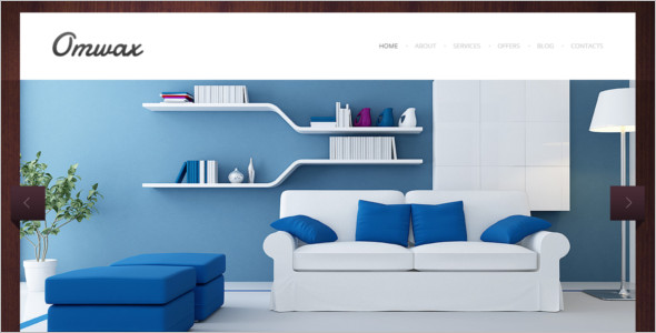 Portfilio Interior Design Drupal Theme