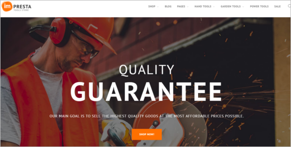 Power Tool Prestashop E-commerce Theme