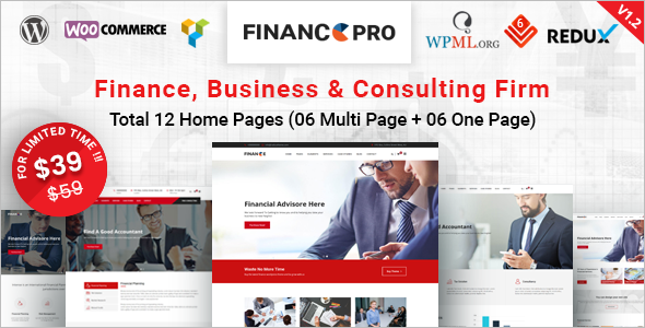 Premium Consultancy Website Theme