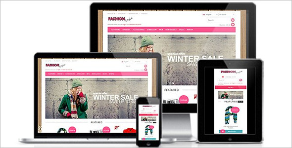 Premium Fashion OpenCart Theme