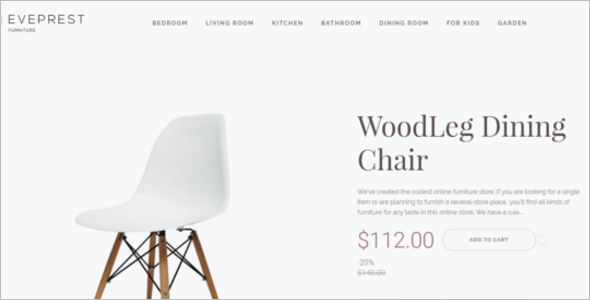 Premium Furniture Prestashop Template