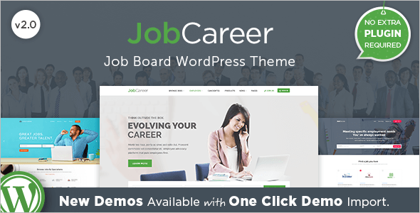 Premium Job Board WordPress Theme