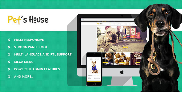 Premium Pet Prestashop Template