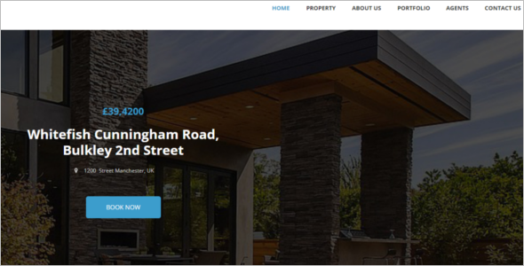 Premium RealEstate Website Template