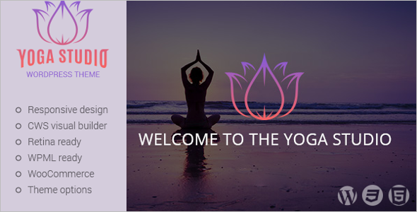 Premium Yoga WordPress Theme