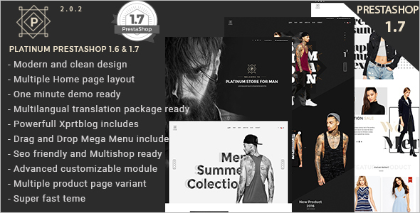 Prestashop 1.6 Accessories Theme