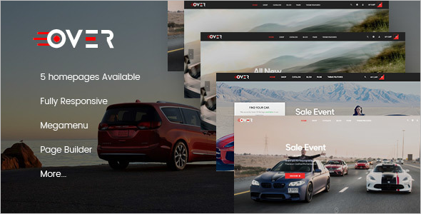Prestashop Responsive Car  Theme