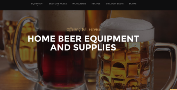 Prestashop Restaurant & Bar Theme