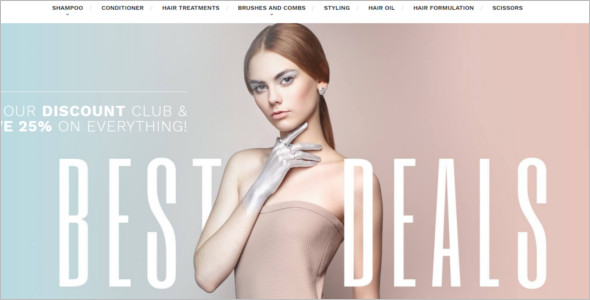 Prestashop Salon Template