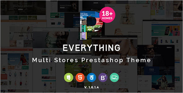 Prestashop Salon Theme