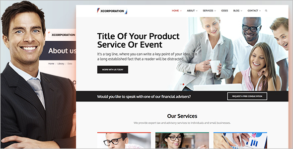 Professional Business Website Template