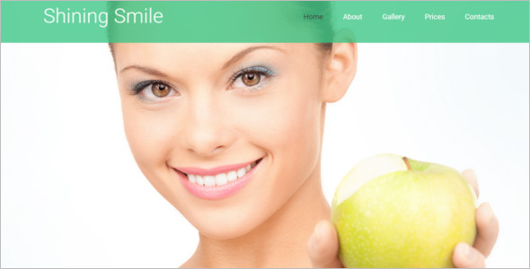 Professional Dental Website Theme