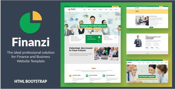 Professsional Company Website Template