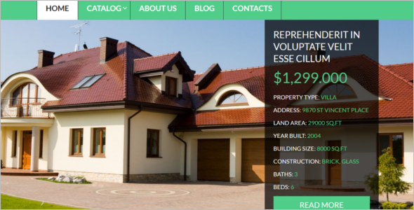 Real Estate Business VirtueMart Theme
