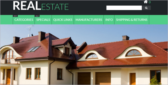 Real Estate Business Zen Cart Template