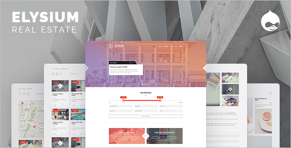 Real Estate Drupal Bootstrap Theme
