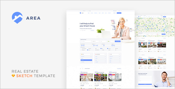 Realtor Sketch Template