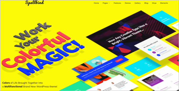 Responsive Designer Website Theme