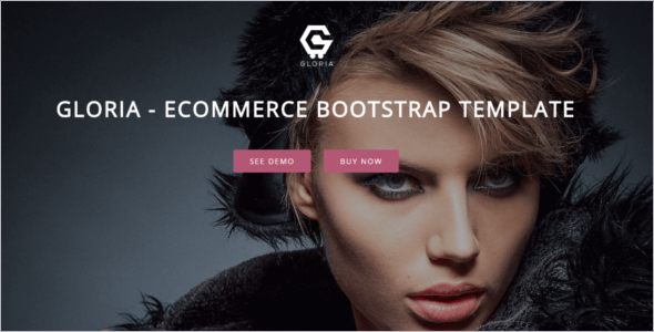 Responsive Ecommerce Bootstrap Template