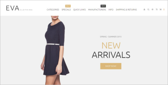 Responsive Fashion Zen Cart Template