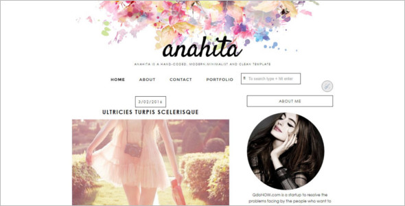 Responsive Friendly Blogger Template