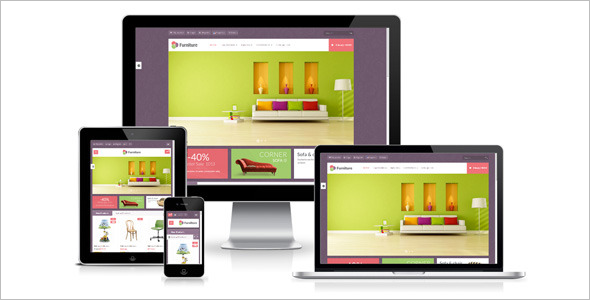 Responsive Furniture Prestashop Template