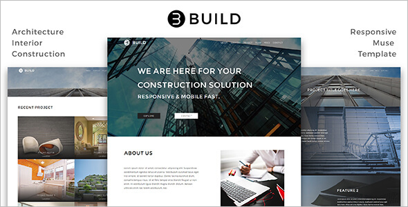 Responsive Interior Design Website Template