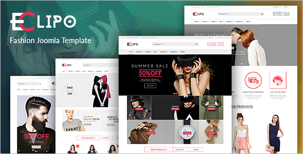 Responsive Jewelry VirtueMart Theme