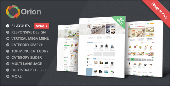 Responsive Medical OpenCart Theme
