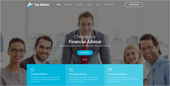 Responsive Mortgage Website Template